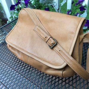 Handbags - Durkee's Express Leather Messenger Bag